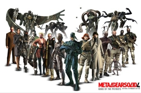 'Metal Gear Solid 4′: Gameplay HD del bueno