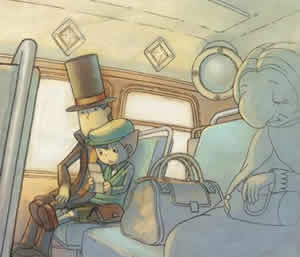 Tráiler con gameplay de Professor Layton vs Phoenix Wright