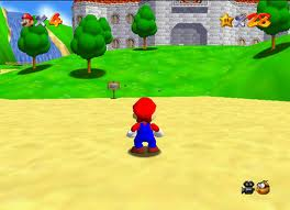 Super Mario 64 gameplay