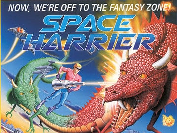 Space Harrier 3D llegará a 3DS