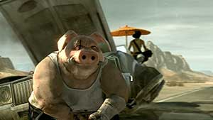 Michel Ancel muestra un artwork de Beyond Good & Evil 2
