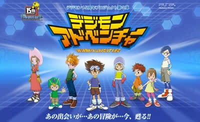 Dos vídeo gameplay de Digimon Adventure para PSP