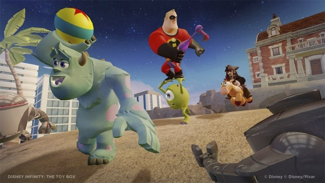 Disney Infinity Gameplay