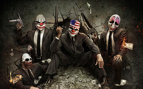 Payday 2 arte