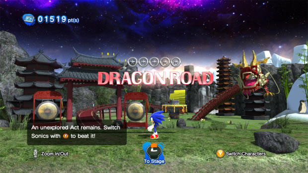 sonic unleashed generations