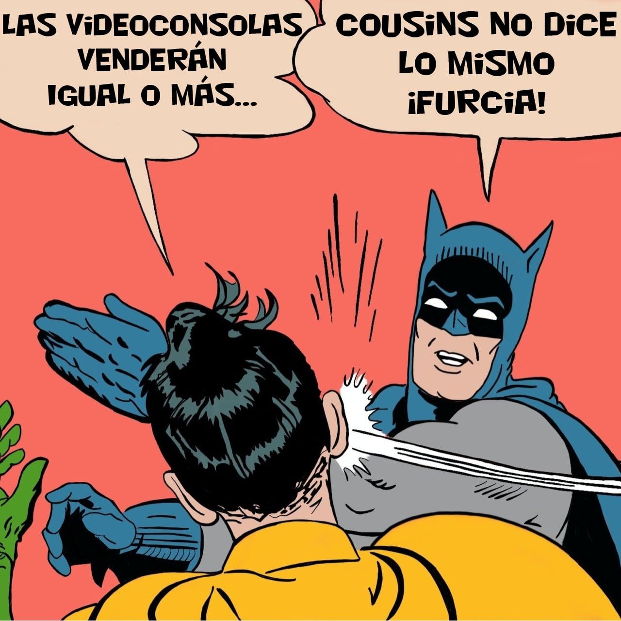 Batman Robin Meme Cousins