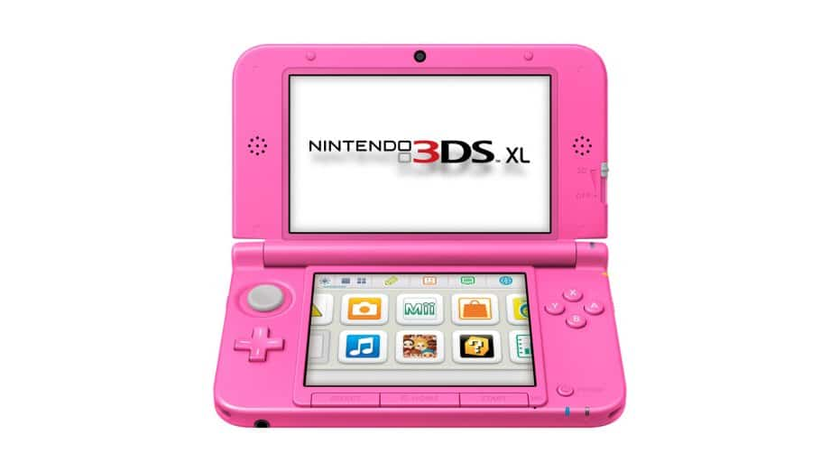 Llega Nintendo 3DS XL color rosa en exclusiva para Europa