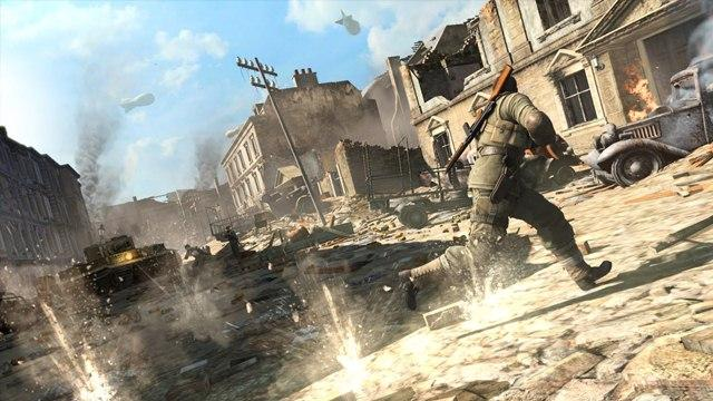 Sniper Elite gameplay