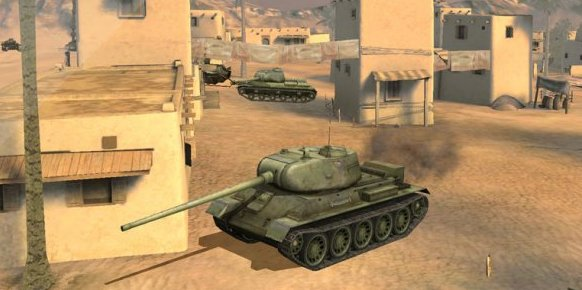 World of Tanks Blitz gameplay