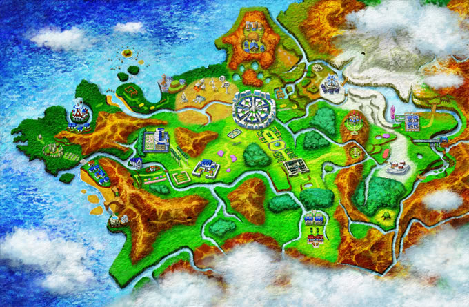 mapa pokemon