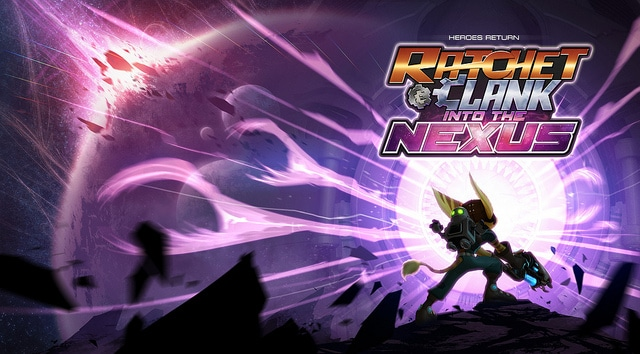 Ratchet & Clank Into the nexus art