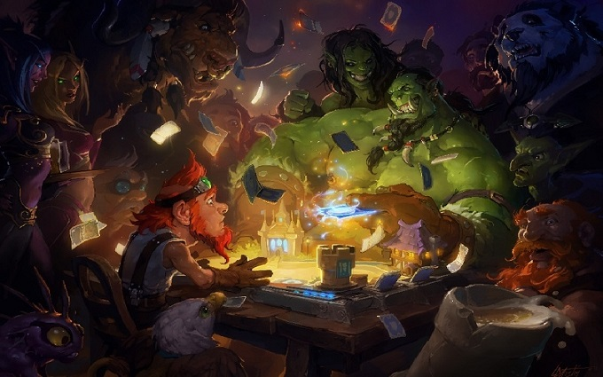 Heartstone Heroes of Warcraft Artwork