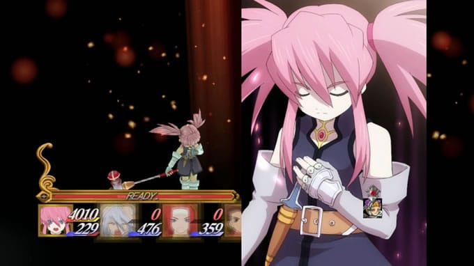 tales of symphonia chronicles 10 aniversario batalla anime 4
