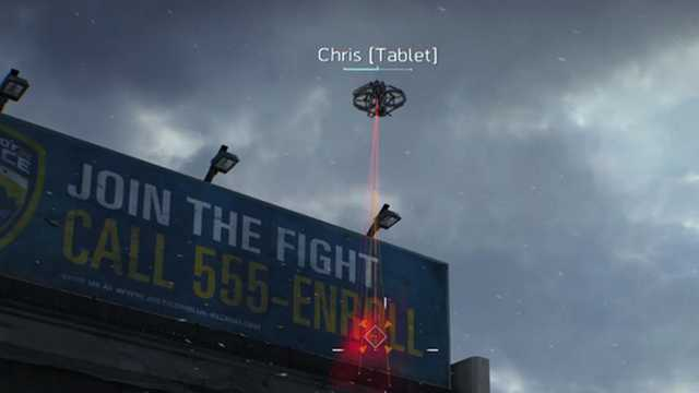 the division drones