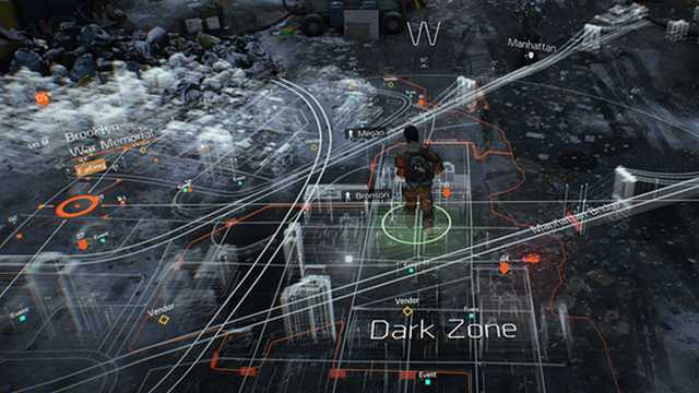 the division mapa