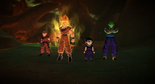 Dragon Ball Z Battle of Z interior