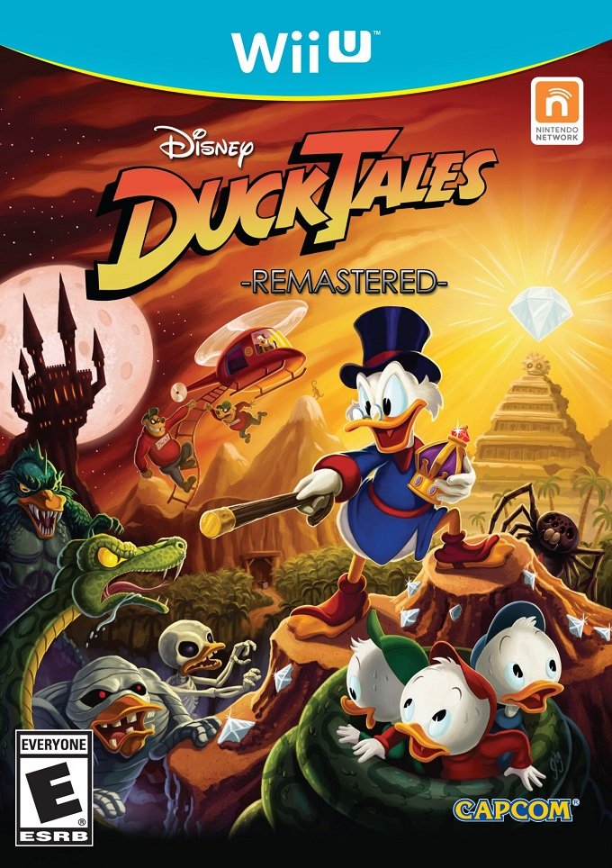 DuckTales Remastered portada Wii U