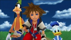 Kingdom Hearts HD 1.5 ReMIX Sora Goofey Donald