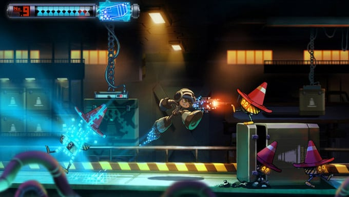 Mighty No 9 Interior