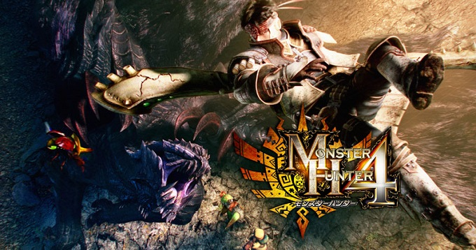 Monster Hunter 4 Artwork