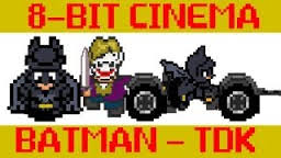Batman 8bit cinema