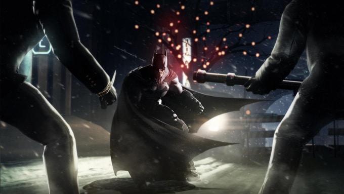 Batman Arkham Origins Interior