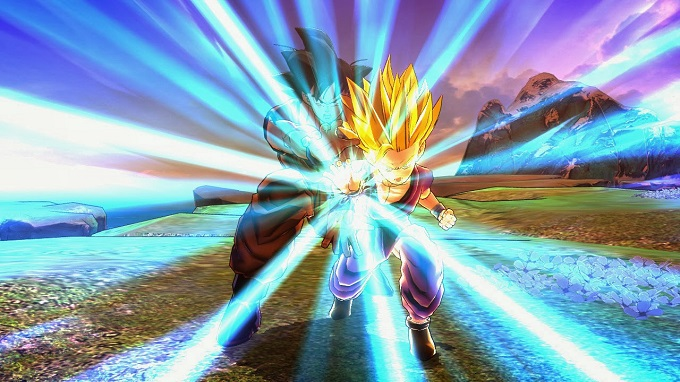 Dragon Ball Z Battle of Z Gohan Kamehameha