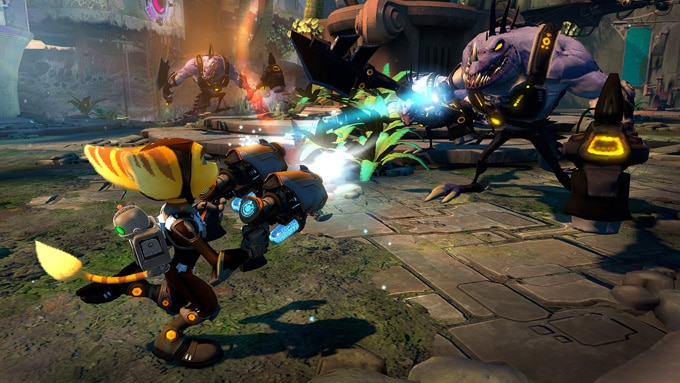 Ratchet & Clank Into the Nexus Interior