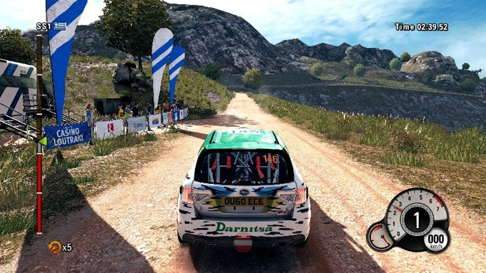 WRC 4 screenshot Interior 2