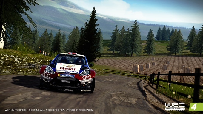 WRC 4 screenshot Interior