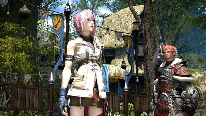 Final Fantasy XIV Lightning