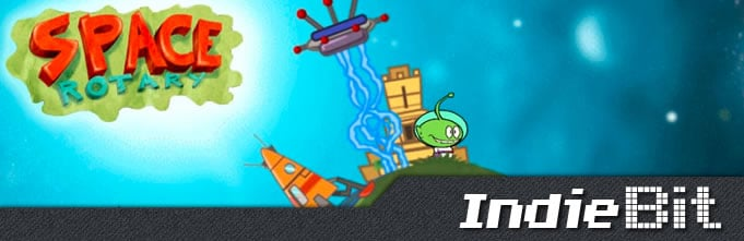 IndieBit space rotate
