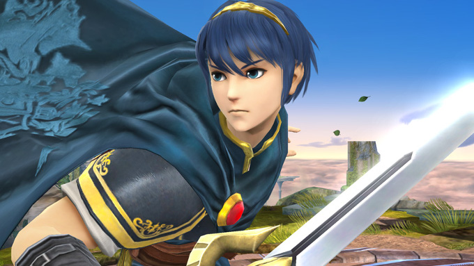 Marth Super Smas Bros