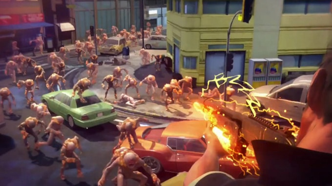 Sunset Overdrive Interior