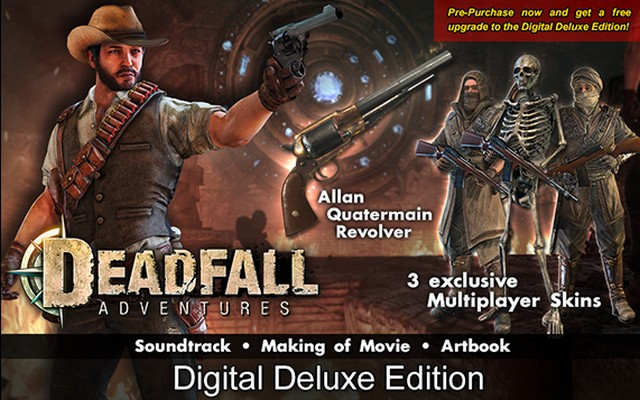 deadfall-adventures digital deluxe edition