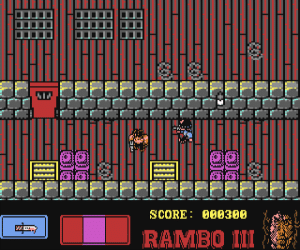 Rambo III Commodore 64
