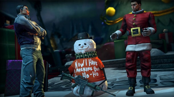 Saints Row IV Xmas