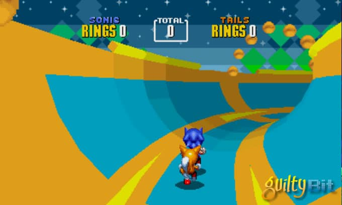 sonic fase especial