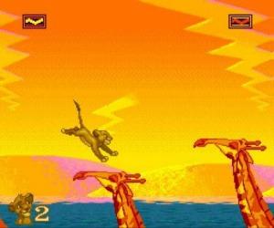 El Rey León - Mega Drive