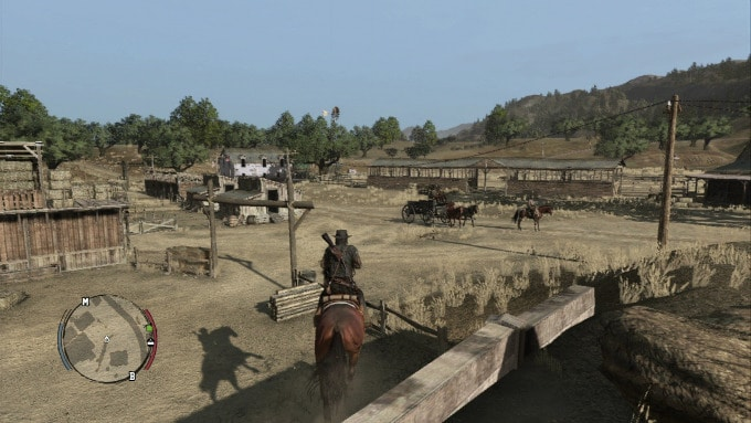 Red Dead Redemption interior