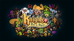 Descuento en Steam de Knights of Pen and Paper +1 Edition