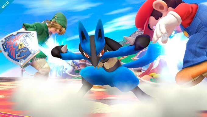 Lucario Super Smash Bros