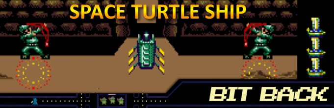 BitBack space turtle ship