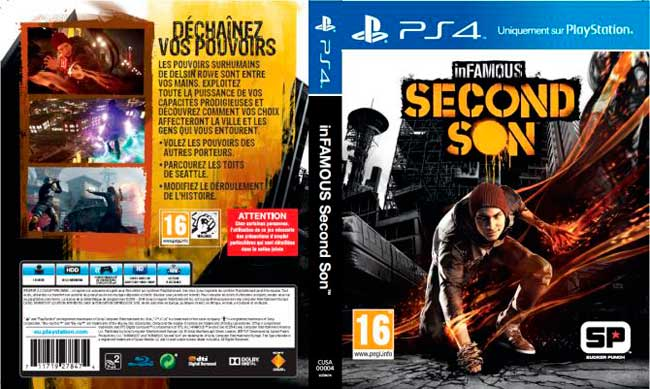 infamous second son box art