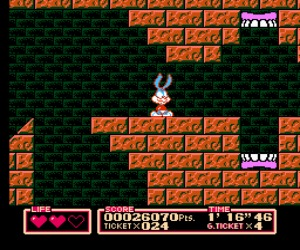 Tiny Toon Adventures 2 Trouble in Wackyland