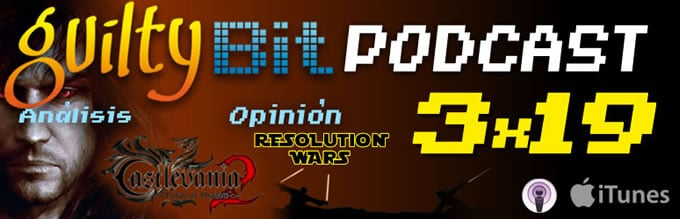 ARTICULO podcast 3x19 castlevania los2 y resolution wars