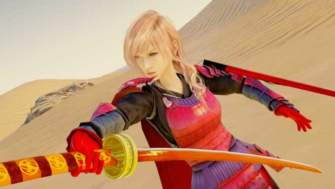 Lightning Returns samurai