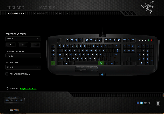 Razer Anansi software