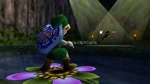 The Legend of Zelda Majora's Mask gameplay