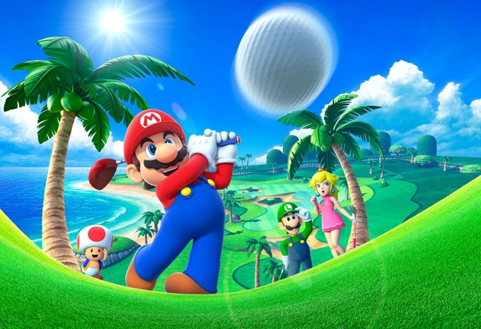 Mario Golf World Tour Interior